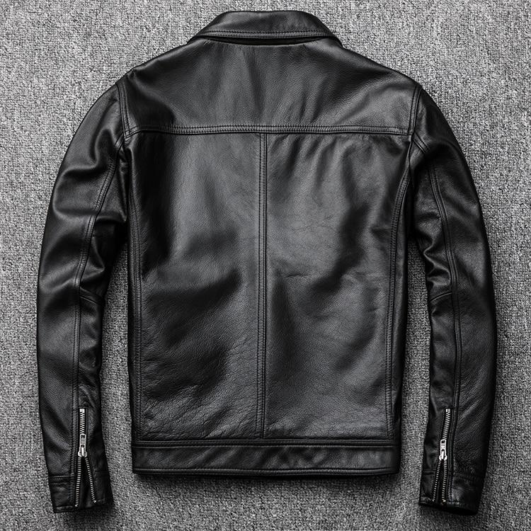 HTB1VWYUXhrvK1RjSszeq6yObFXaF MAPLESTEED Brand Vintage Leather Jacket Men 100% Cowhide Red Brown Black Natural Leather Jackets Men's Leather Coat Autumn M174