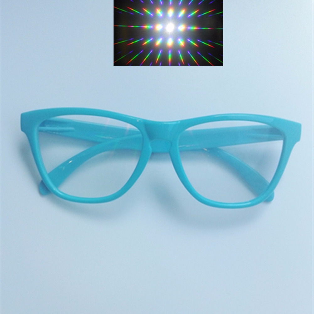 5pcs Premium Ultimate Diffraction Glasses 3d Rave Prism Grating Glasses Rainbow Fireworks 13500 Lens For Party And Dance Event Exquisite Craftsmanship; Consumer Electronics 3d Glasses/ Virtual Reality Glasses
