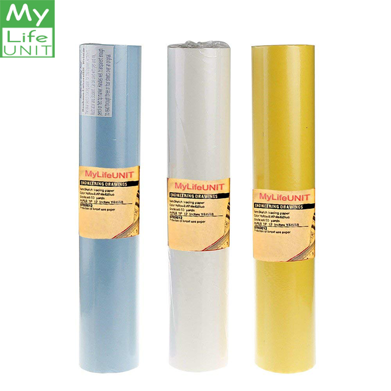 MYLIFEUNIT Drawing Paper Watercolor Paper Sketch Tracing Paper Roll For Sewing Artist Painting suppliesMYLIFEUNIT Drawing Paper Watercolor Paper Sketch Tracing Paper Roll For Sewing Artist Painting supplies