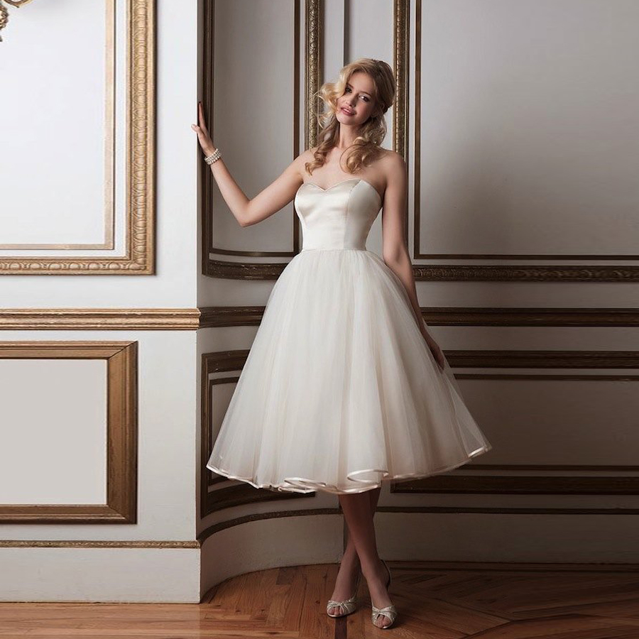 Popular Short Girl Wedding Dress-Buy Cheap Short Girl Wedding ...