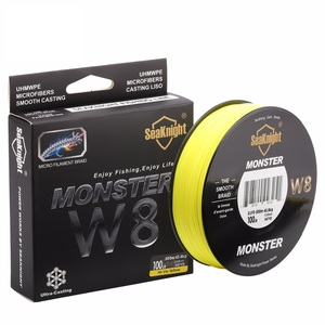 Image 4 - SeaKnight  MONSTER W8 Braided Fishing Lines 20 100LB 8 Weaves Wire Smooth PE Multifilament Line for Sea Fishing 500M