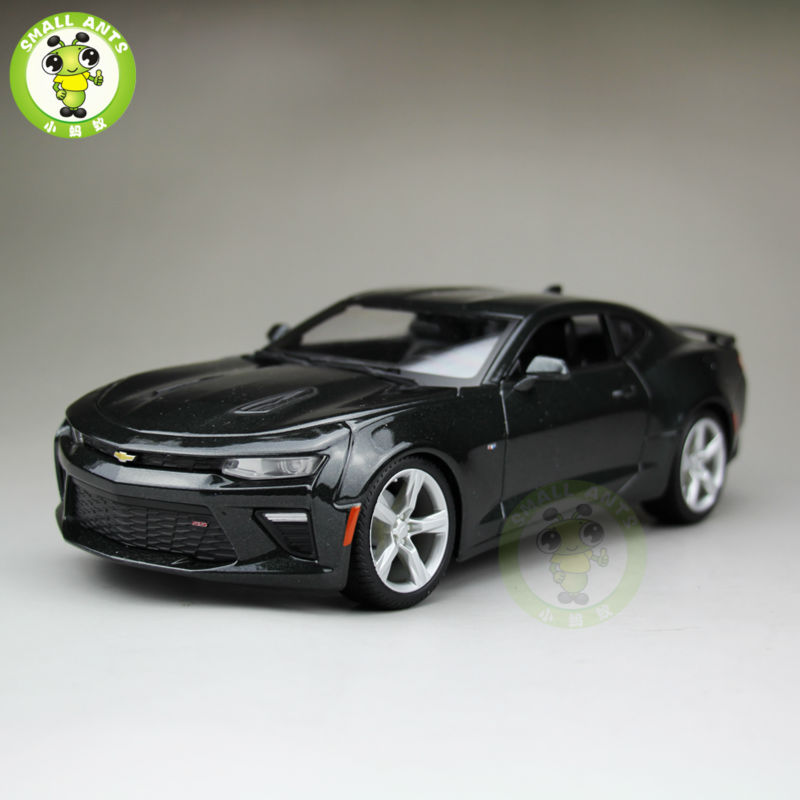 1 18 2016 Chevrolet CAMARO SS Diecast Model Car Maisto 31689 Gray