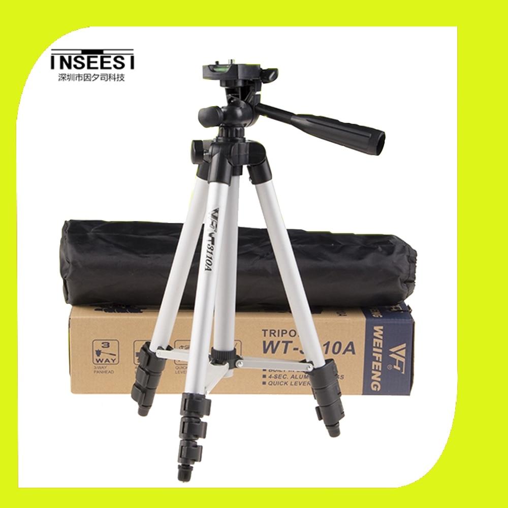 WEIFENG WT3110A Tripod With 3 Way HeadTripod for Nikon D7100 D90 D3100 DSLR Sony NEX 5N