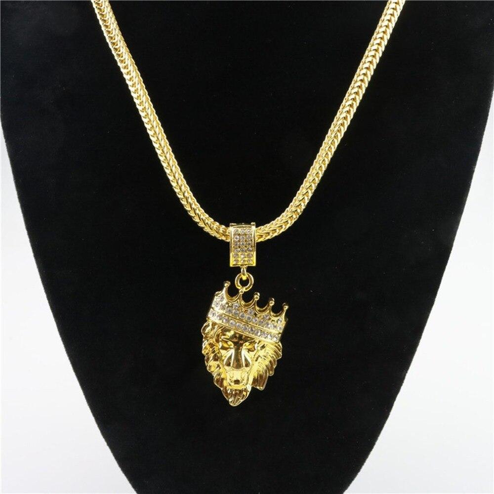 Aliexpress Com Buy Western Stylish Cool Lion Head Crown