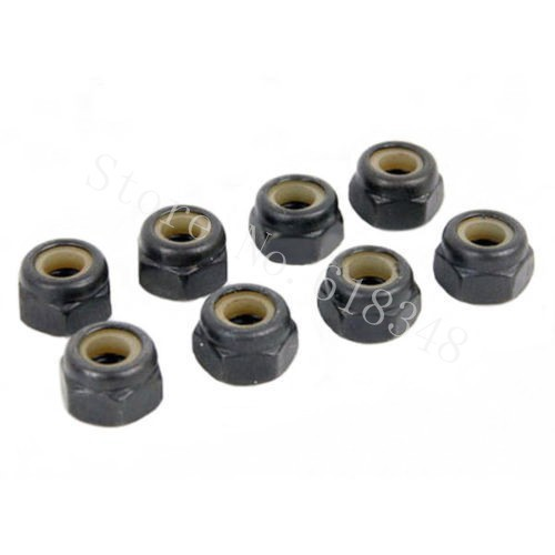 Rc Car Replacement Parts : ⓪ pcs universal ᗗ nylon lock nut m rc car