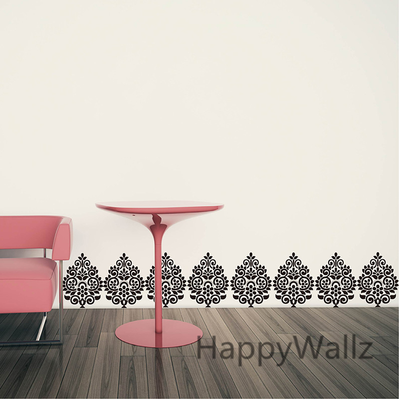 Modern Wall Sticker Decorative Flower Wall Decal Removable Wall Decoration Living Room Office P46