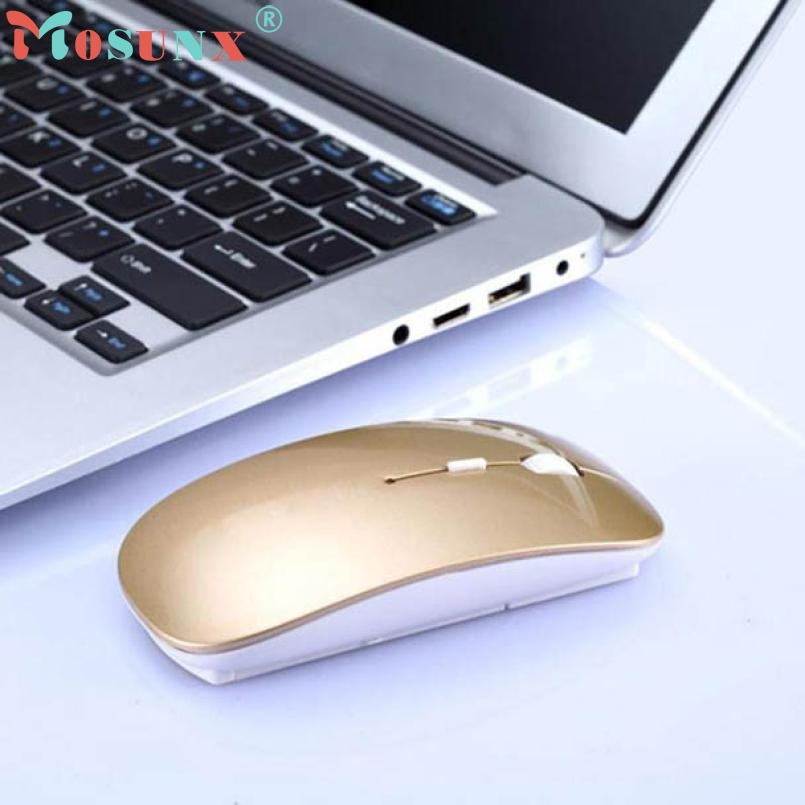 Mouse Raton 2400 DPI 4 Button Optical USB Wireless Gaming Mouse Mice For PC Laptop Computer Mouse Mice 18Aug2 rechargeable wireless mouse 2 4g 2400 dpi slient button gaming mouse built in battery with charging cable for pc laptop computer