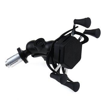 Teléfono cargador USB para HONDA CTX700 NC700S NC700X NC750S NC750X CB500F CB500X de la motocicleta soporte de navegación GPS