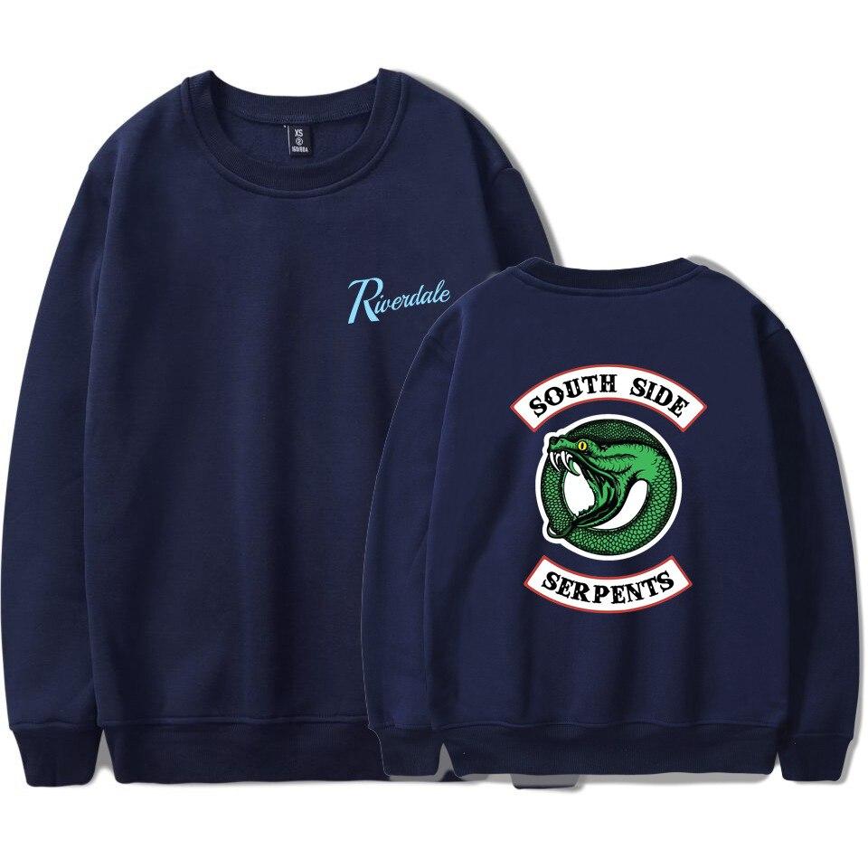 RIVERDALE SOUTH SIDE SERPENTS hoodie Hot K-Pop Hoodies men Women Hip Hop Sweatshirts Streetwear Autumn Winter Coat plus Size 4XL