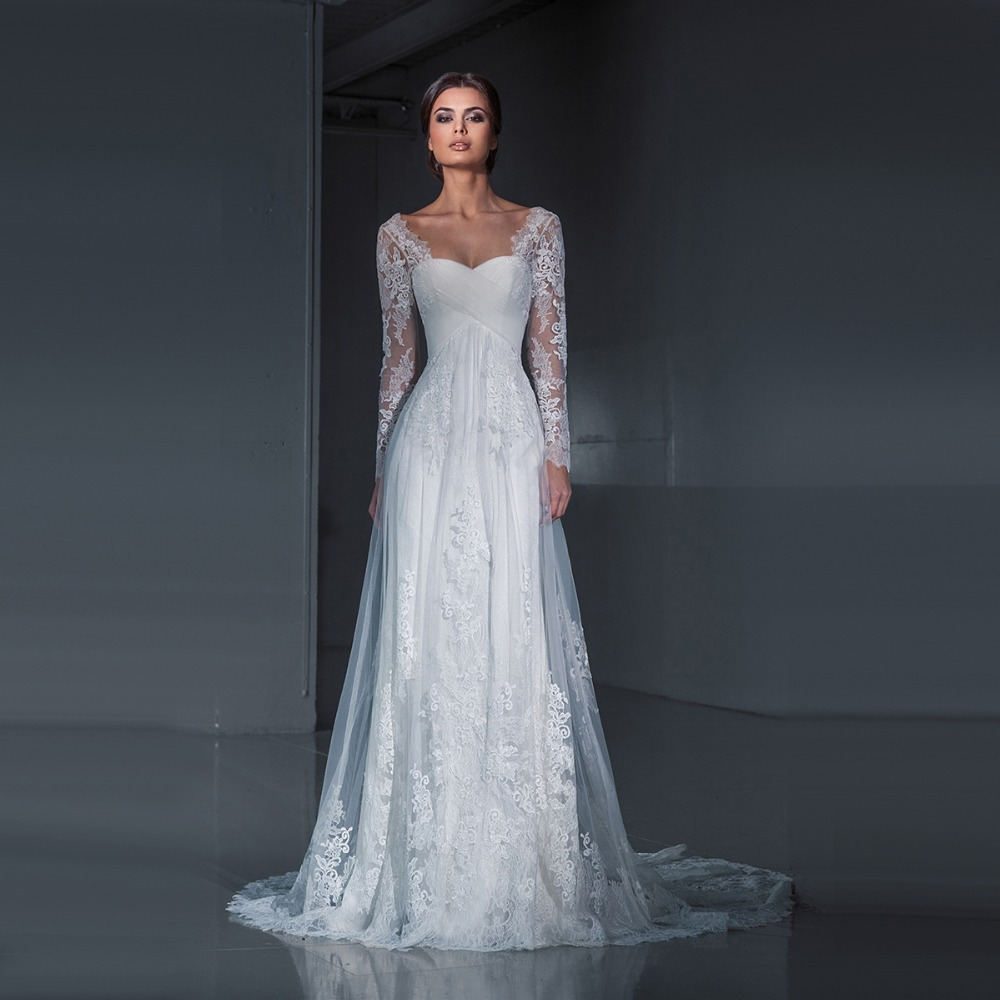 Lace form fitting wedding dress gown and dress gallery for Lace dresses for weddings