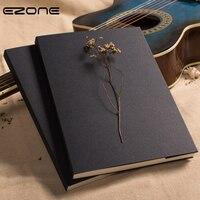 EZONE Black Card Sketch Book Sketchbook Art Marker Sketch Book For Painting Drawing Retro Clssci School