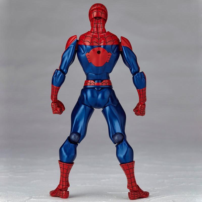 Revoltech Amazing Red Venom Carnage Amazing Captain America Spiderman Magneto Wolverine X-men Action Figures Toy Doll (34)