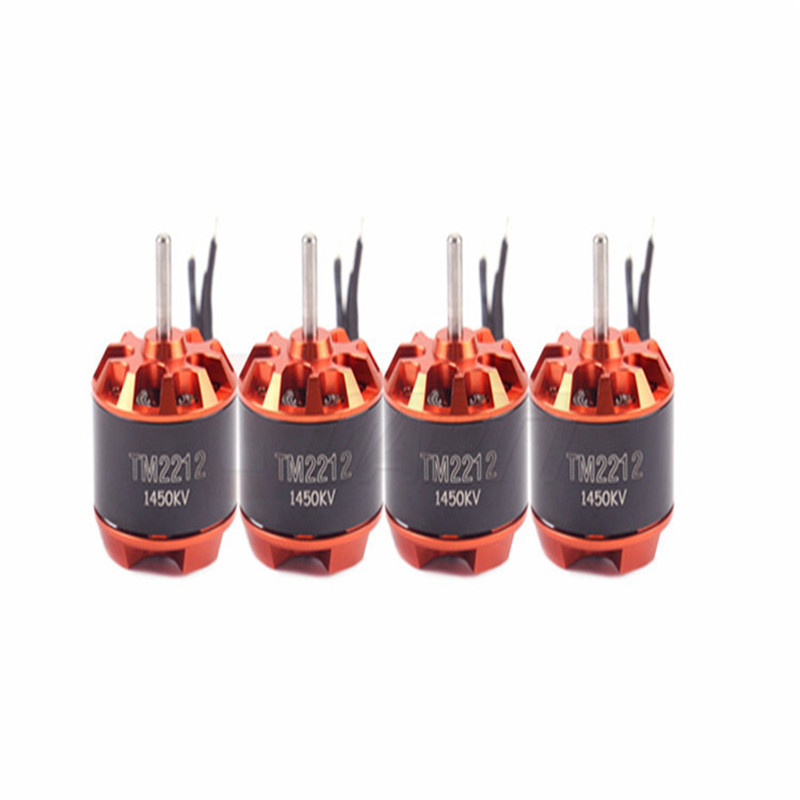 Freeshipping 4 PCS GARTT TM 2212 <font><b>1450KV</b></font> Brushless Motor For Multirotor Quadcopter Hexa image
