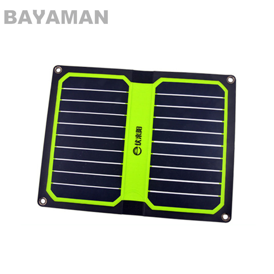 1pc 11W portable folding mobile phone charger with solar folding panel for Multicopter Drones 7w folding solar panel charger for mobile phone camera more camouflage