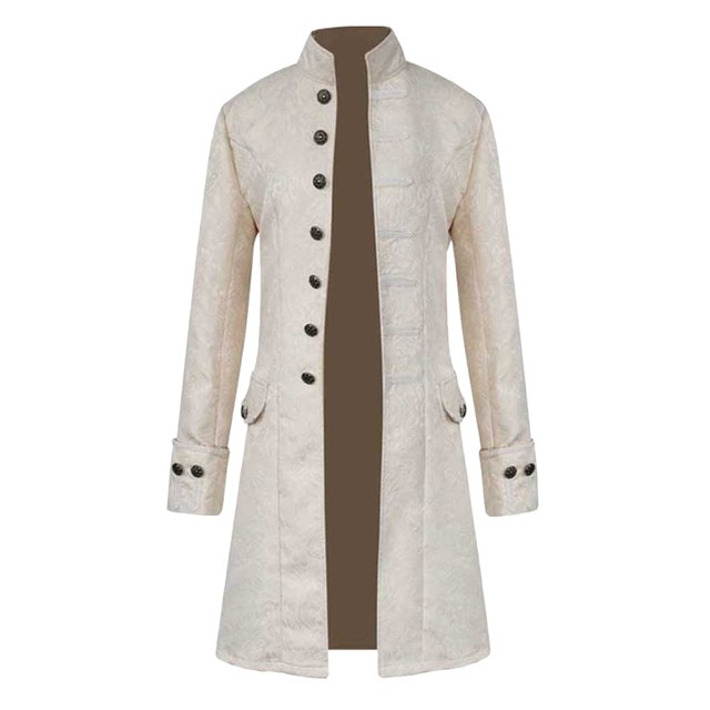 Chinese Style Winter Warm Men Trench Coats Vintage Tailcoat Long Coat Trench Men Jacket Outwear Buttons Black Overcoat Clothes