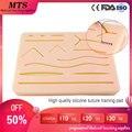MTS силиконовая подкладка для наложения шва  хирургический шовный Тренировочный Набор для медицинского обучения  тренировочный травматичес...