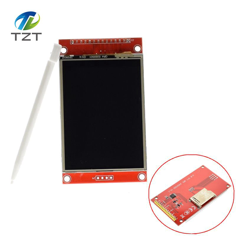 1pcs J34 F85  240x320 2.8 SPI TFT LCD Touch Panel Serial Port Module with PCB ILI9341 5V/3.3V 2.8 TFT With touch1pcs J34 F85  240x320 2.8 SPI TFT LCD Touch Panel Serial Port Module with PCB ILI9341 5V/3.3V 2.8 TFT With touch
