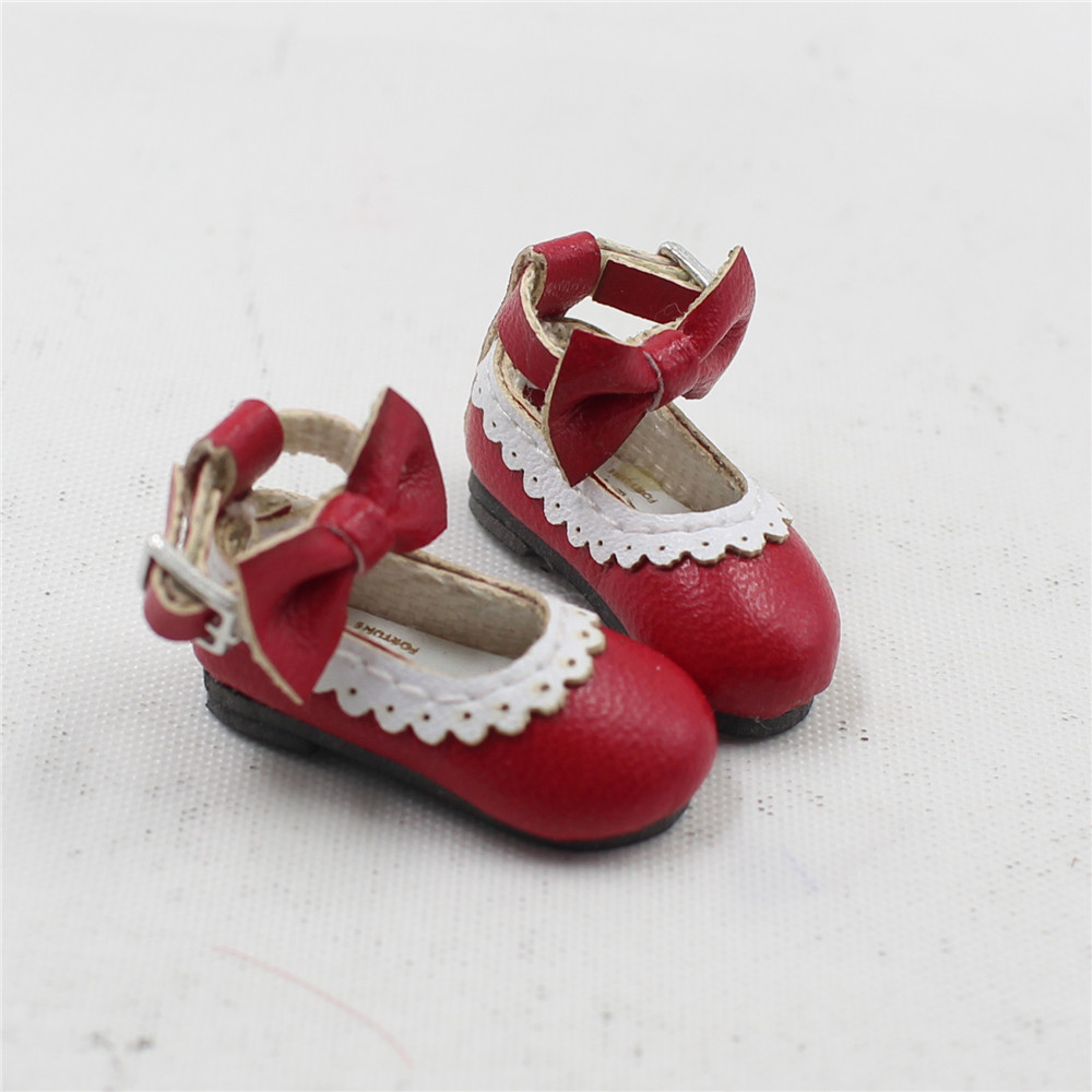 Neo Blythe Doll Designer Shoes with Bow 9