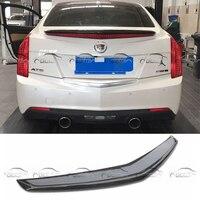 Rear Trunk Lip Wings Top quality Carbon Fiber Spoiler For Cadillac ATS 2013 2015