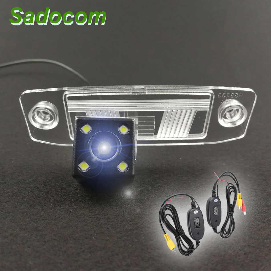 Car CCD 4LEDS Vehicle Backup 140 degrees Rear View Reversing Camera For Hyundai Elantra Accent Tucson Veracruz Sonata Terracan