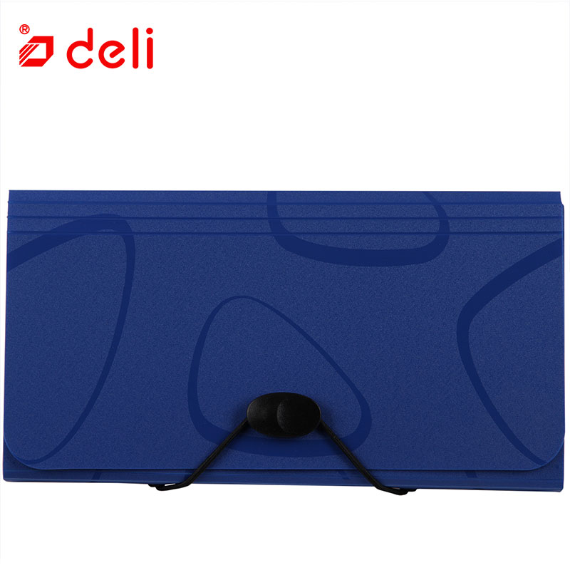 Deli Document Bag Business Briefcase Storage File Folder for Papers Stationery Filing Storage Bag Organizers for Office School deli business document bag school file folder filing bags side zipper pocket office school bags protable business briefcase