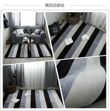 Custom rectangular foot piano carpet Black and white silencer carpets for living room rug Piano note key polyester