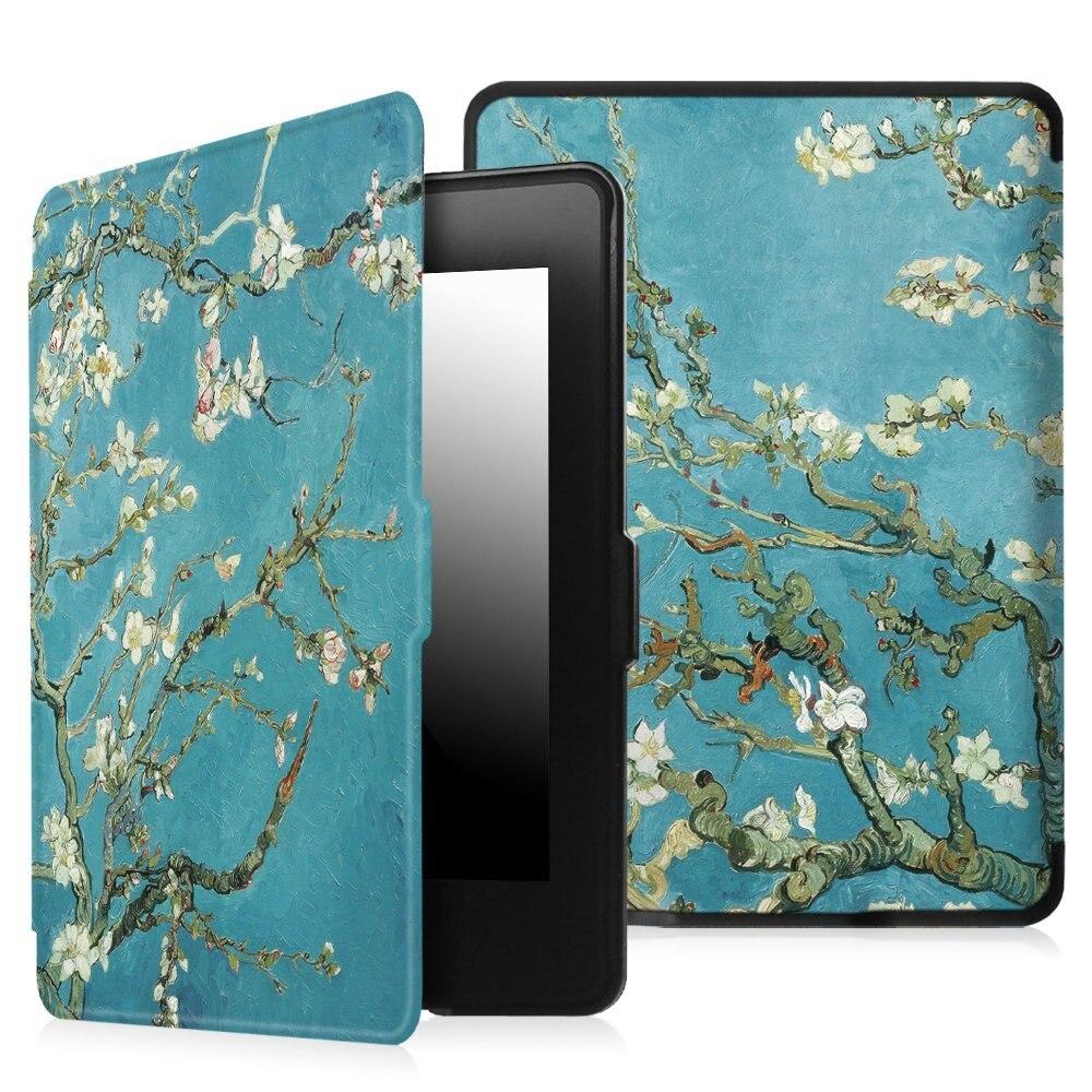 Zimoon Für Amazon Kindle Paperwhite 1/2/3 Van Gogh Design Haut Auto Wake Up/Schlaf 6 Zoll Fall Mit Displayschutzfolie