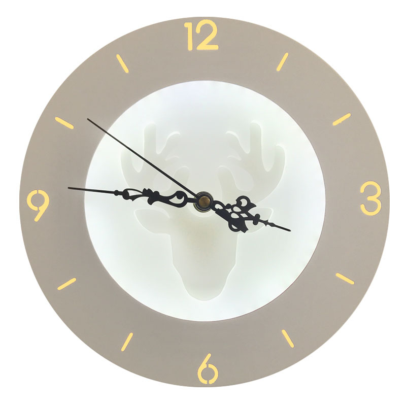 LED Wandleuchten Uhr Für Wohnzimmer Schlafzimmer 20 Watt Wand Wandleuchte Weiße  Farbe Vier Muster AC85 265V LED Wandleuchte Innen ...