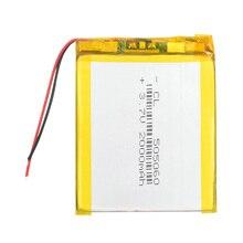 3,7 в литий-полимерный аккумулятор gps навигация 505060 2000 мАч Li-Po Аккумуляторная батарея для MP4 MP5 DVD сотовый телефон планшетный ПК