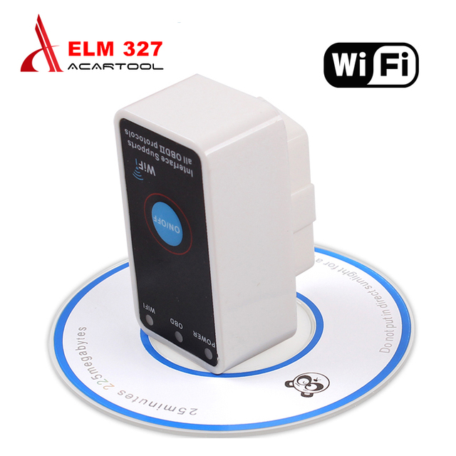ELM327 WIFI ON/OFF Switch ELM 327 OBD2 OBD ii CAN-BUS Diagnostic Tool elm327 Switch Works on Android elm 327 wifi free ship