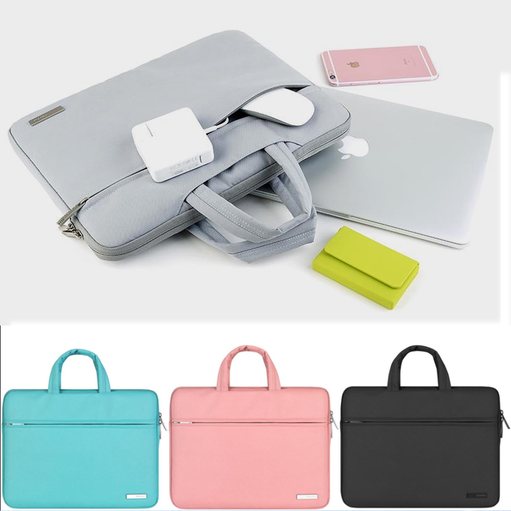 Nylon 11 12 13 15,4 15,6 Mann Frauen <font><b>Notebook</b></font> Laptop Sleeve Tasche Fall Für <font><b>Xiaomi</b></font> Acer Dell HP Asus Lenovo macbook <font><b>Pro</b></font> Air Oberfläche image