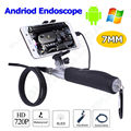 Free shipping!Handheld 720P 7mm Inspection Borescope Endoscope Camera Waterpoof For PC Android