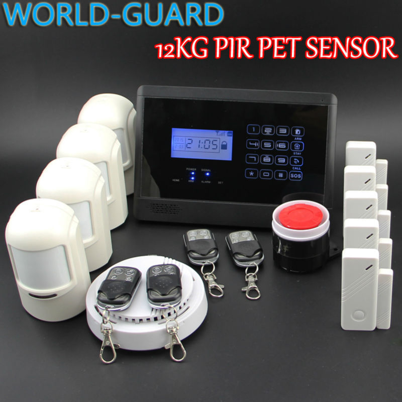 homsecurity diy wireless wired gsm home security burglar