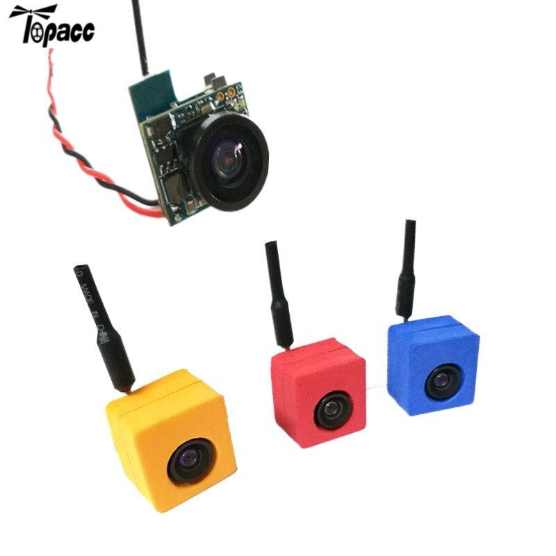 Hot Sale CM275T 5.8G 25mW 48CH 600TVL 120 Degree AIO FPV Mini VTX-Camera Transmitter CAM NTSC PAL Switchable