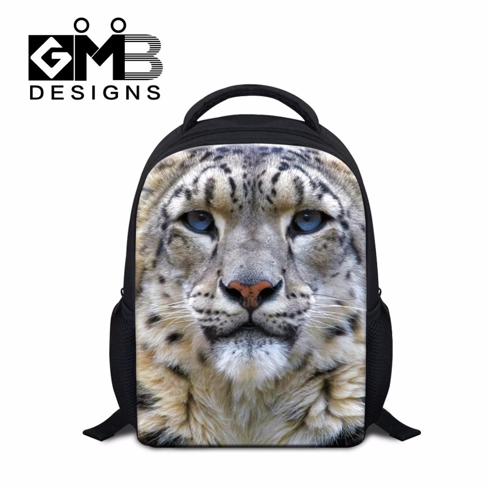 7f5a01a12b52 Small Shoulder Backpacks for Children Kindergarten Ultra Light Back Pack  for Kids Boys Animal Tiger Bookbags Leopard Mochilas