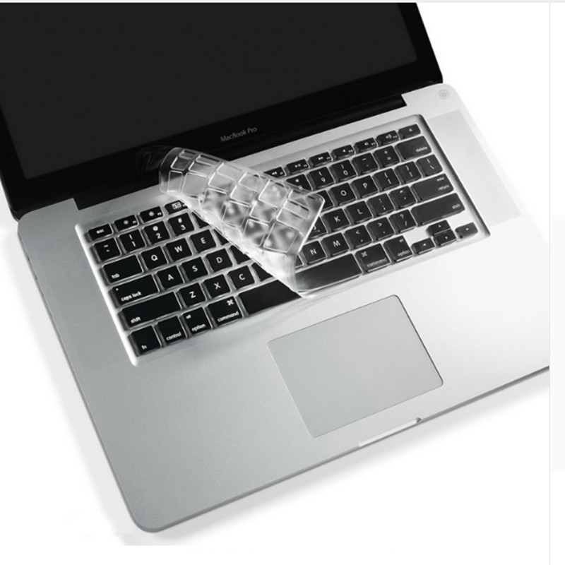 High Clear Tpu Water Dust Proof Keyboard Cover Sticker For Macbook Air 11 13 inch Pro 13 15 Retina US Vision Stickers Protector