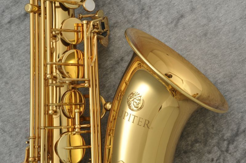 Nuovo di Zecca In Ottone Strumenti Musicali JUPITER JTS-500 Sassofono Tenore Per Gli Studenti Placcato Oro Tono Bb Sax Con Il Caso Boccaglio