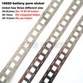 1 м 99.96% ремень из чистого никеля высокой чистоты 3P 4P 5P 6P литиевая батарея никель-полоска литий-ионные аккумуляторы Ni пластина используется д...