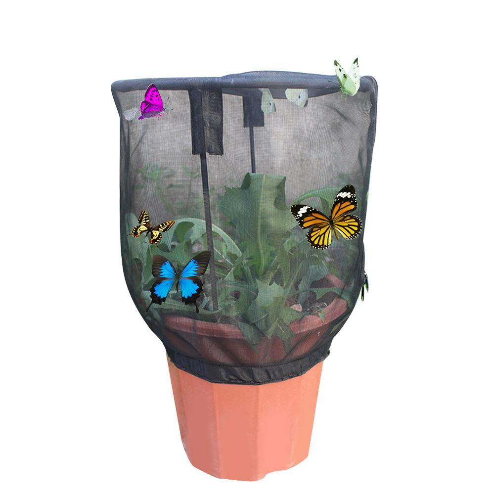 Cover Cage Breeding-Cages Insect Butterfly Habitat Praying Mantis And Sunshade Net-Cloth-Plant