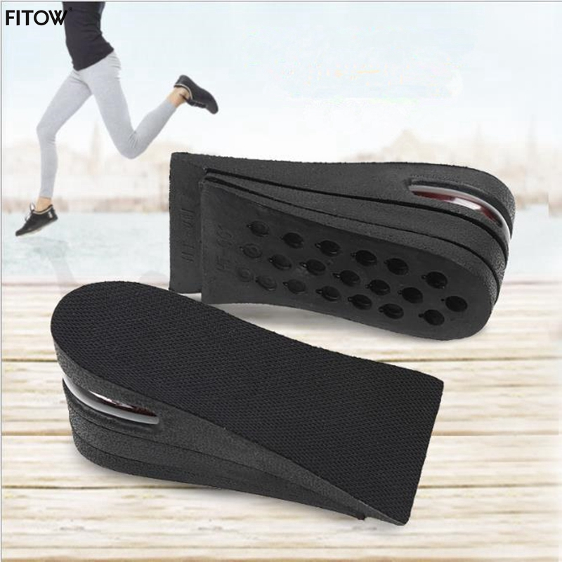 3 Layers Adjustment Air Half Shoe Cushion Height Increasing Adjustable Insoles Shock-Absorbant for Shoes
