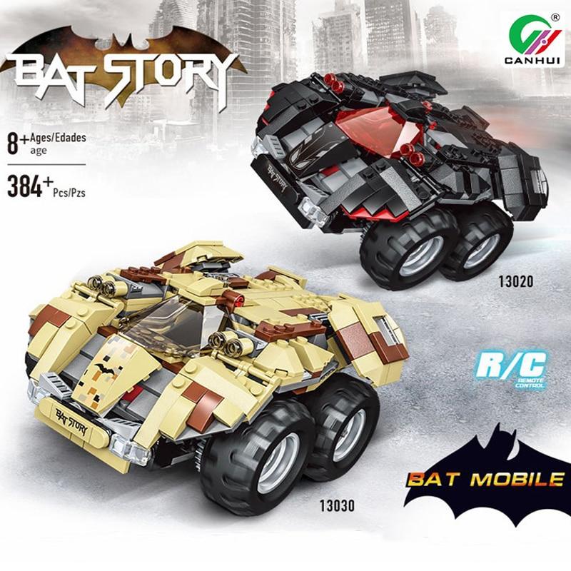 384 pièces télécommande course voiture Set blocs de construction briques éducatif RC piste technique voiture blocs jouets pour garçons