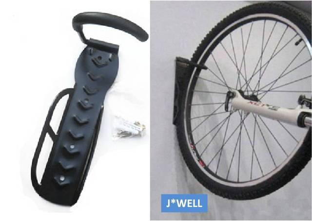 New Cycling Training Garage Bicycle Bike Storage Wall Mounted Rack Stands Solid Steel Hanger Hook Holder