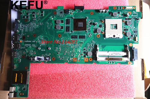 Laptop motherboard Suitable for asus N73JG N73JF REV 2.1 ( i3 i5 processor) pc mainboard стоимость