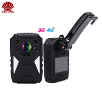 32MP Super HD 4G Body Worn Camera with 1440P Live Image Remote Monitoring GPS WIFI Built in Weatherproof IP67 with LCD Monitor