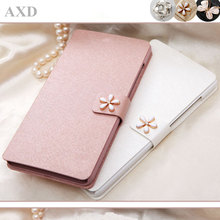 High Quality Wallet Phone Case For Lenovo A5000 A 5000 5.0'' Fundas PU Leather Flip Stand Case Cover With diamond цена 2017