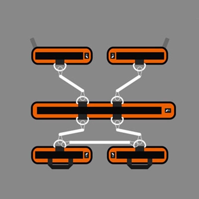 Rebond formateur corde élastique résistance bandes Fitness extenseur basket-ball saut entraînement jambe étirement agilité entraînement Gym Roe - 4