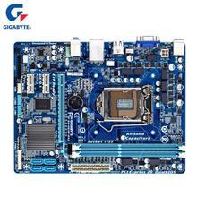 Gigabyte GA H61M DS2 เมนบอร์ด LGA 1155 DDR3 16GB สำหรับ Intel H61 H61M DS2 เดสก์ท็อปเมนบอร์ด SATA II Micro ATX Systemboard ใช้
