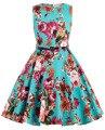 Real Picture Flower Print Vintage Flower Girl Dresses for Wedding Communion Pageant Dresses for Little Girl Kids Prom Dress 0250