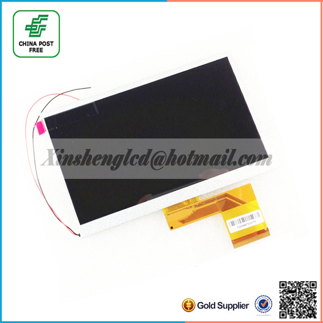 """7 """" 800X480 60pins 165*104mm TFT LCD Display Panel For 7inch Allwinner A13 A10 Q8 Q88 MZ82 GB880 Tablet PC Free Shipping"""