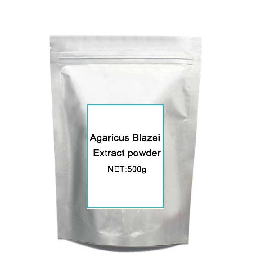 GMP Certified 500g anti-tumor and cancer/ Mushroom/ Agaricus Blazei Extract/90%Polysaccharides power for free shipping цены онлайн